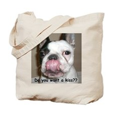 Do you want a kiss? Tote Bag