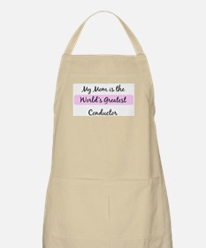 Worlds Greatest Conductor BBQ Apron