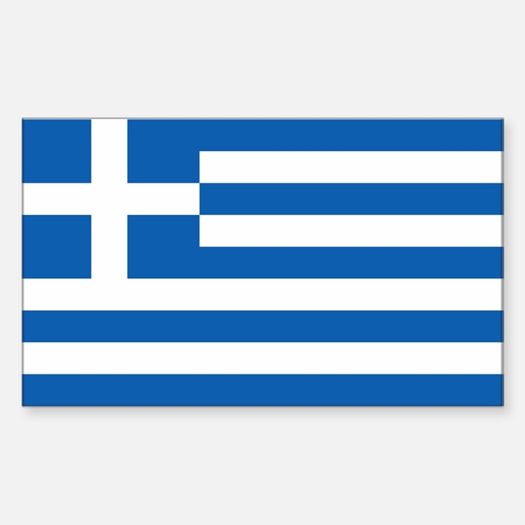 Greece Flag Decal