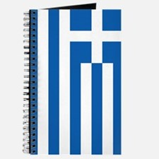 Greece Flag Journal