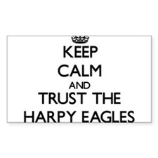 Keep calm and Trust the Harpy Eagles Decal