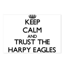 Keep calm and Trust the Harpy Eagles Postcards (Pa