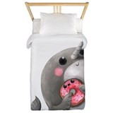 Narwhal Luxe Twin Duvet Cover