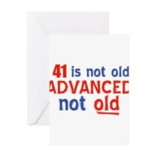 44 year old designs Greeting Card