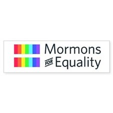 Mormons For Equality Bumper Bumper Sticker