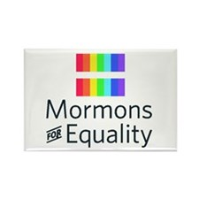 Mormons For Equality Rectangle Magnets (10 Pack)