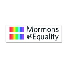 Mormons For Equality Car Magnet 10 X 3