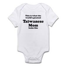 Taiwanese mom Infant Bodysuit