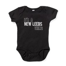 Its A New Leeds Thing Baby Bodysuit