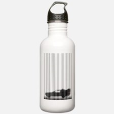 DeLorean Silhouette Water Bottle