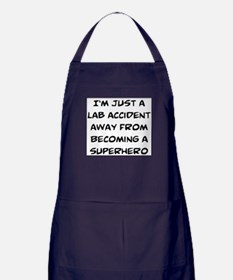 lab accident Apron (dark)