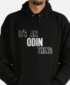 Its An Odin Thing Hoodie