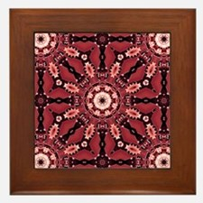 Kaleid Magic Framed Tile