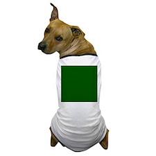 Dark green solid color Dog T-Shirt