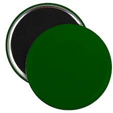 Dark green solid color Magnets