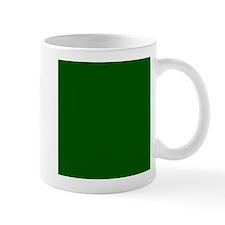 Dark green solid color Mugs