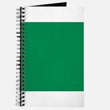 Green solid color Journal