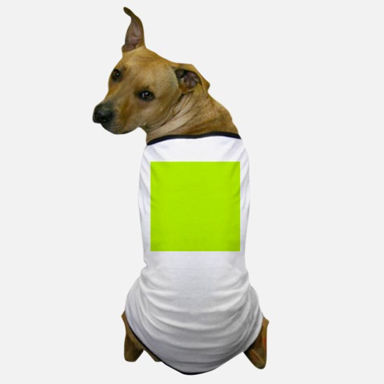 Lime Green solid color Dog T-Shirt