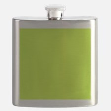 Lime Green solid color Flask