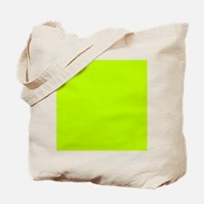 Lime Green solid color Tote Bag