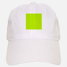 Lime Green solid color Baseball Baseball Cap