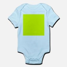 Lime Green solid color Body Suit