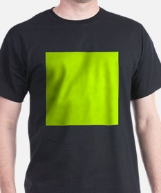 Lime Green solid color T-Shirt
