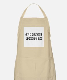 Bring Back The Numbers BBQ Apron