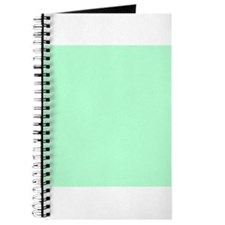 Mint Green solid color Journal