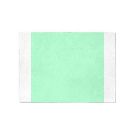 Mint Green Solid Color 5u0027x7u0027Area Rug