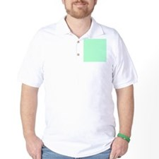 Mint Green solid color T-Shirt