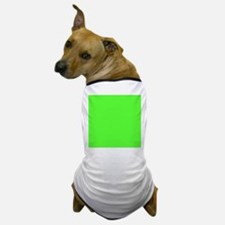 Neon Green solid color Dog T-Shirt