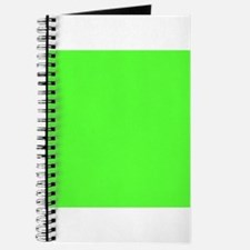 Neon Green solid color Journal