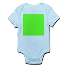 Neon Green solid color Body Suit