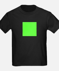 Neon Green solid color T-Shirt