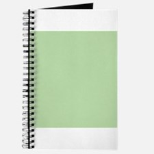 Sage Green solid color Journal