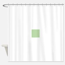Sage Green solid color Shower Curtain
