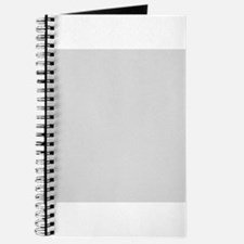 Light Gray solid color Journal