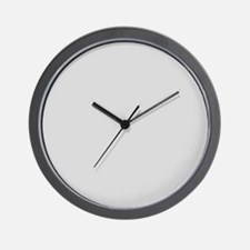 Light Gray solid color Wall Clock