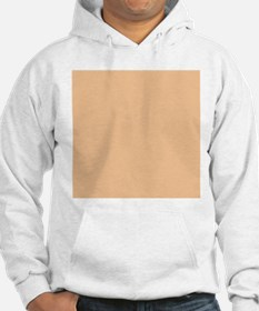 Apricot Solid Color Jumper Hoody