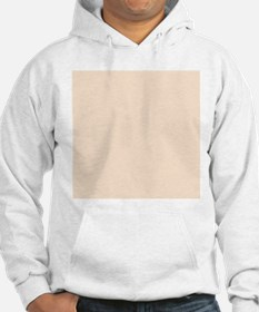 Peach Solid Color Jumper Hoody
