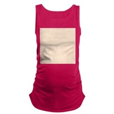 Peach Solid Color Maternity Tank Top