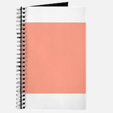 Coral Orange Solid Color Journal