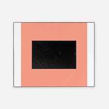 Coral Orange Solid Color Picture Frame