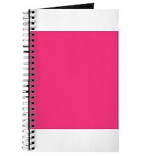 Hot Pink Solid Color Journal