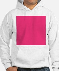 Hot Pink Solid Color Jumper Hoody