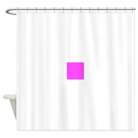 Magenta pink solid color shower curtain by admin cp49789583 for Plain pink shower curtain