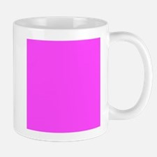 Magenta Pink Solid Color Mugs
