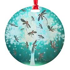Dragonfly Glow Tree Ornament