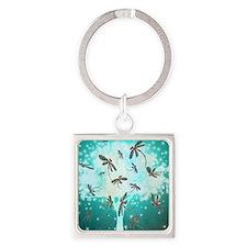 Dragonfly Glow Tree Keychains